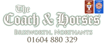 Coach and Horses, Brixworth for good food and accommodation near Northampton, Northants - Awarded 4 star Quality in Tourism
