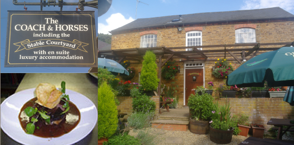 Country accommodation and pub food in Brixworth